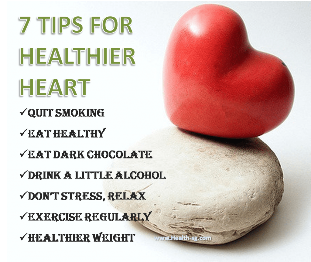 Tips to a healthy heart