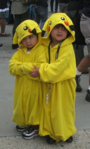 Cosplayers_of_Pikachu