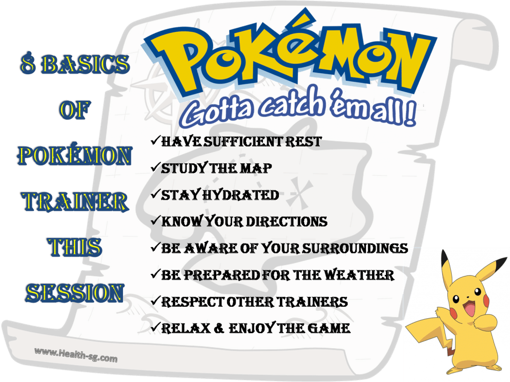 http://health-sg.com/8-basics-of-being-a-pokemon-trainer-in-pogo/